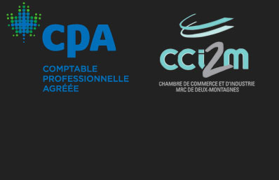 Karine Charest comptable CPA CGA logos